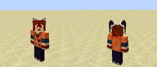 TwinTails для Minecraft 1.8.9