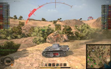 Дамаг Индикатор Хищник для World of Tanks 0.9.16