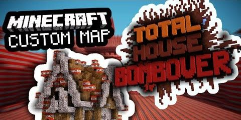 Total House Bombover для Minecraft 1.8.9