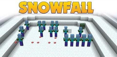 Snowfall для Minecraft 1.8.9