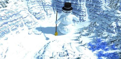 The Snowman Valley для Minecraft 1.8.9