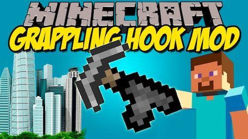 Grappling Hook для Minecraft 1.8
