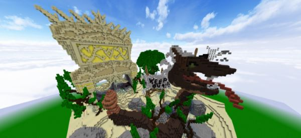 Fierce Snake Demon Temple для Minecraft 1.9