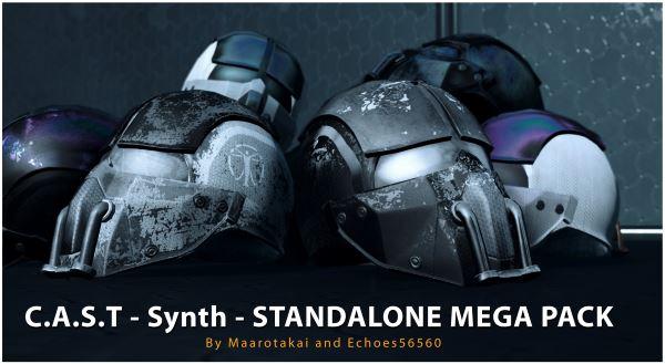Мега набор новых текстур дя брони и униформ синтов / Synth Armors and Uniforms для Fallout 4
