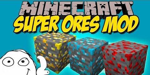 Super Ores для Minecraft 1.7.10