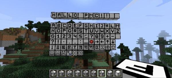 Fex's Alphabet & More для Minecraft 1.8