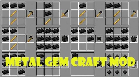 Metal Gem Craft для Minecraft 1.8.8