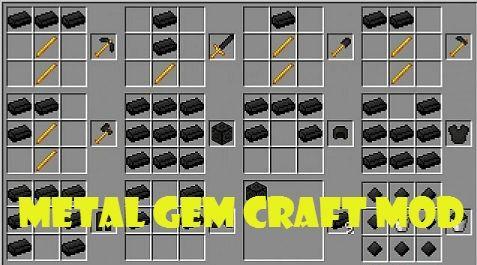 Metal Gem Craft для Minecraft 1.8.8