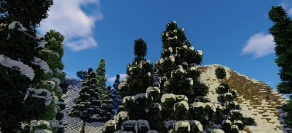 Alpen-Kruin для Minecraft 1.8.9