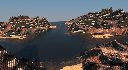 Volcano Crater для Minecraft 1.8.9
