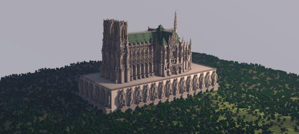 Reims Cathedral для Minecraft 1.9