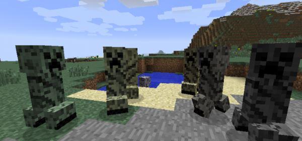 Chameleon Creepers для Minecraft 1.9