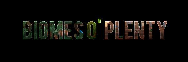 Biomes O' Plenty для Minecraft 1.9