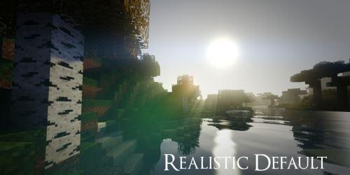 Realistic Default для Minecraft 1.9