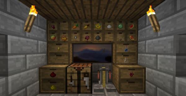 Storage Drawers для Minecraft 1.9