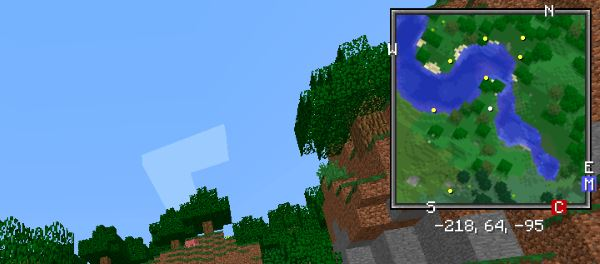 Xaero's Minimap для Minecraft 1.9