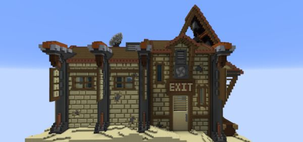 Sandstorm Station для Minecraft 1.9