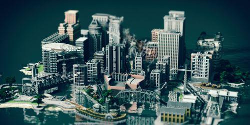 Gotham City для Minecraft 1.9
