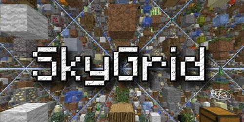 SkyGrid для Minecraft 1.9