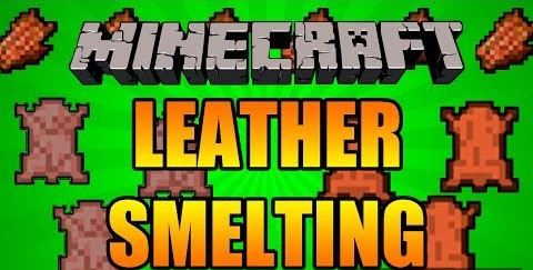 Yet Another Leather Smelting для Minecraft 1.8.8