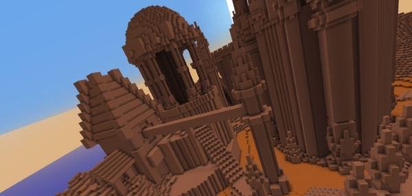 The Utopias in Mars для Minecraft 1.8.9