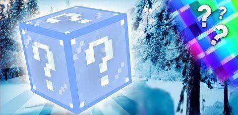 Frosty Lucky Block для Minecraft 1.7.10