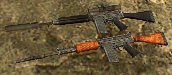 FN FAL (Sniper) для Fallout: New Vegas