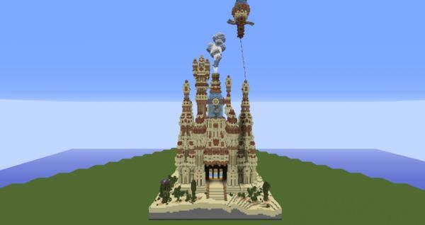 The Udrona Palace для Minecraft 1.9