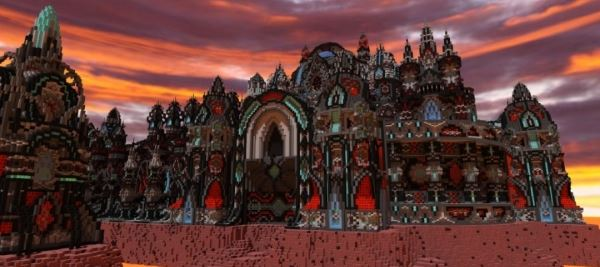 Demora Temple для Minecraft 1.8.9