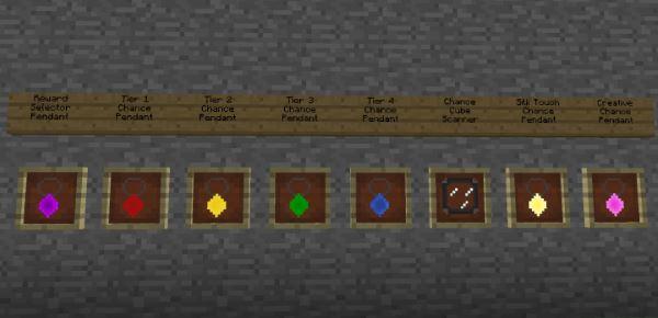 Chance Cubes для Minecraft 1.9