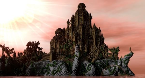 Baroque Megabuild для Minecraft 1.8.9