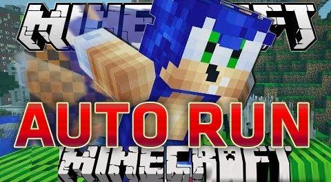 Auto Run для Minecraft 1.8
