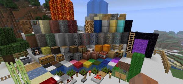 Minecraft Enhanced для Minecraft 1.9