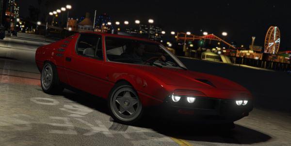 Alfa Romeo Montreal 105 GT для GTA 5