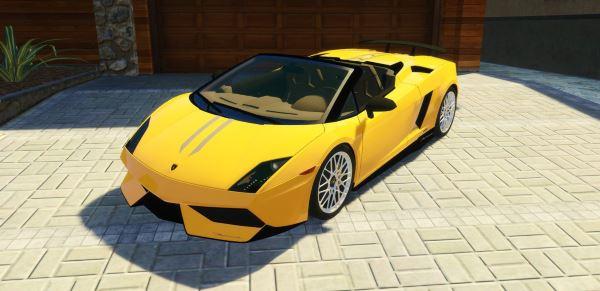 Lamborghini Gallardo LP 570-4 Spyder для GTA 5