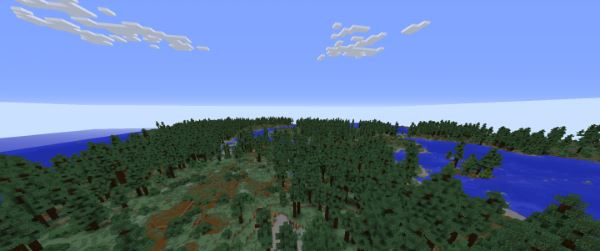 Realistic Terrain Generation для Minecraft 1.9