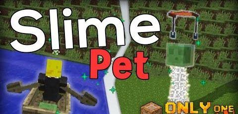 Slime Pet для Minecraft 1.9