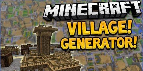 Village Generator для Minecraft 1.9