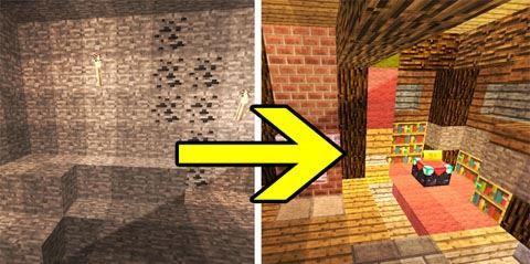 Transforming Redstone Cave для Minecraft 1.8.9
