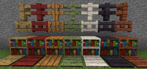 Wood Stuff для Minecraft 1.7.10