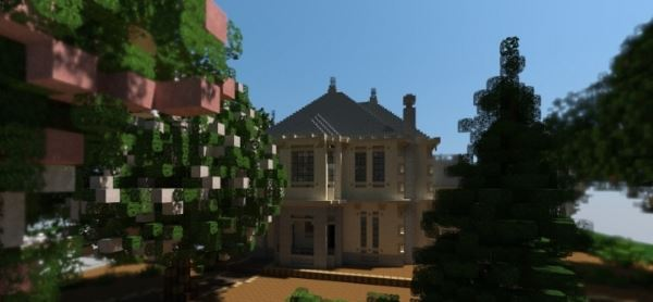 French Country Home для Minecraft 1.8.9
