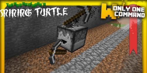 Computercraft's Turtle для Minecraft 1.8.8