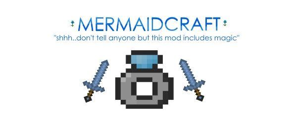 MermaidCraft для Minecraft 1.7.10