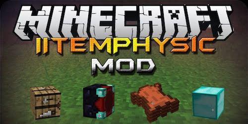 ItemPhysic для Minecraft 1.9