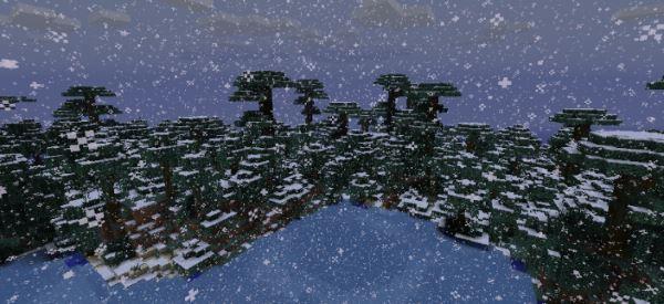 Wintercraft для Minecraft 1.7.10
