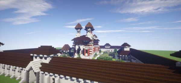 Sinaia Monastery для Minecraft 1.8.9