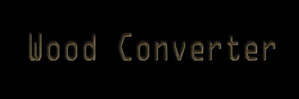 Wood Converter для Minecraft 1.9