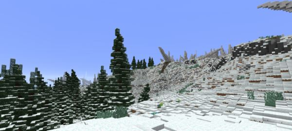 The Cold Cliffs of Calcratezz для Minecraft 1.9.2