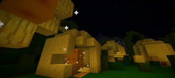 Halloween and Pumpkins для Minecraft 1.8