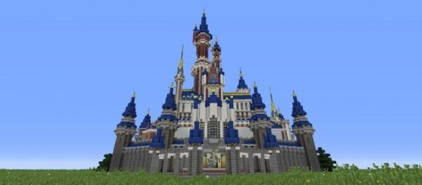 Disney Castle Hybrid для Minecraft 1.8.9